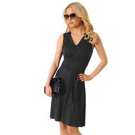 Kleid Bella schwarz Gr. 46