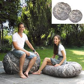 Indoor- und Outdoor-Sitzkissen Stone