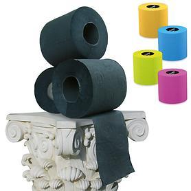 Toilettenpapier, bunt