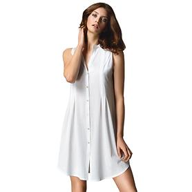 Nachthemd Cotton Deluxe weiß Gr. L
