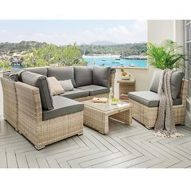 Lounge-Serie Aruba 5-teilig