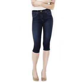 Capri-Jeans Marla dunkelblau W36