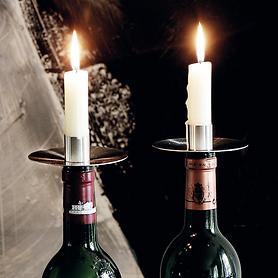 Flaschenkerzenhalter 2er-Set