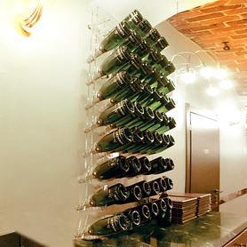 Botellero de pared acrílico VARESE