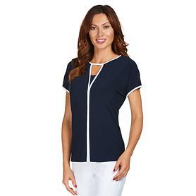 Shirt Lane schwarz/weiß Gr. 46