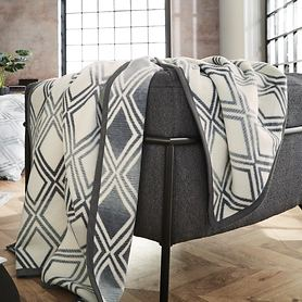Jacquard-Decke Rhombus