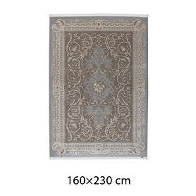 Vintage-Teppich silber/taupe Pierre Cardin 160x230