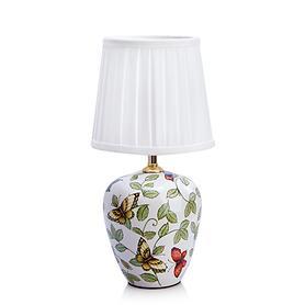 Keramik-Tischlampe Papillon H 33 cm