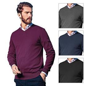 V-Ausschnitt Pullover Toni