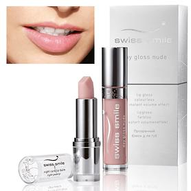 Day Gloss Nude & Night Care Lip Balm