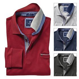 Langarm-Poloshirt Manuel