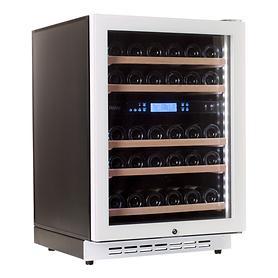 PEVINO Zweizonen-Weinkühlschrank f. 38 Flaschen