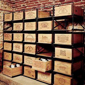Weinkistenlagersystem Modulorack
