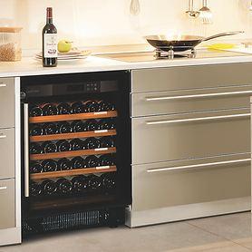 Weinklimaschränke COMPACT, niedrig - Ein- oder Multitemperatur-Modelle