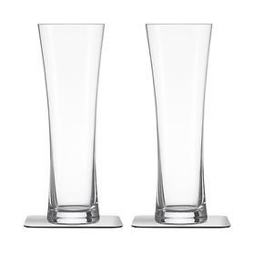 Bier-Magnetgläser 2er-Set 0,33 l