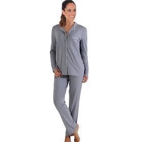 Pyjama Paris grau Gr. 40