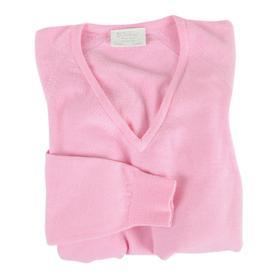 Damen-V-Pullover Isabel Rosa, Gr. M