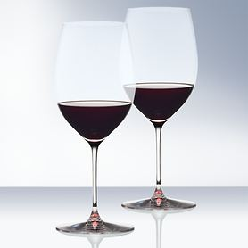 Bordeaux Rotweinglas Veritas 2er-Set, (nur 24,95 EUR/Glas)