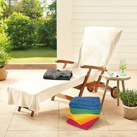 Frottier-Überzüge für Stühle und Liegen