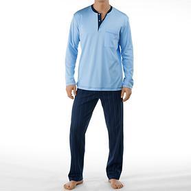 Pyjama Sleep Well blau Gr. 56