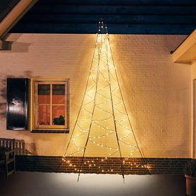 LED-Wand-Weihnachtsbaum H 200