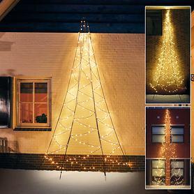 LED-Wand-Weihnachtsbäume