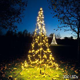 LED-Weihnachtsbaum H 200 cm mit 300 LEDs