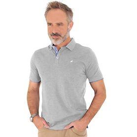 Polo-Shirt Lucas grau Gr. M