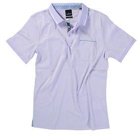 Polo-Shirt Stefan flieder, Gr. M