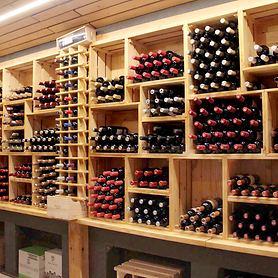 Weinkiste/Weinregal CASSATTA aus Holz