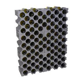 Kunststoff-Weinregal STONE