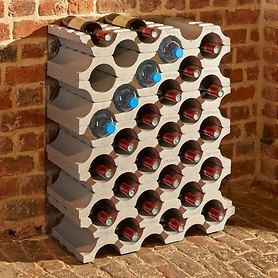 Weinregal PIERRE aus Kunststoff