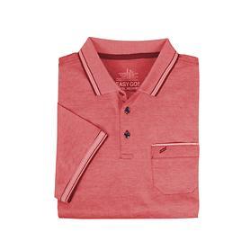 Herren-Poloshirt, Daniel rot, Gr. 3XL