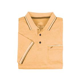 Herren-Poloshirt, Daniel orange, Gr. L