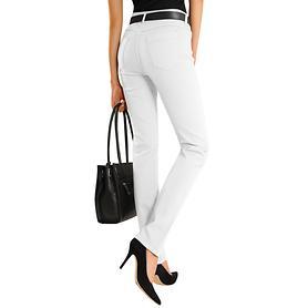 Shaping-Jeans Pamela weiß Gr. 44