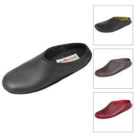 Elchleder-Damen-Pantoffeln