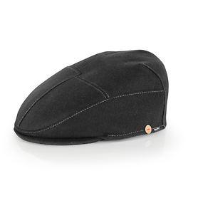 Flatcap Sigma Gr. 56 schwarz