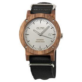 Automatik-Armbanduhr Olmo schwarz
