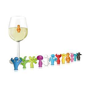 Glas-Marker Party People 2x 12-teiliges Set