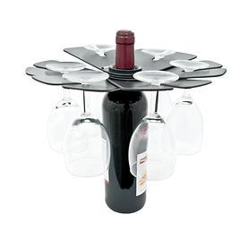 Faltbarer Weinglashalter