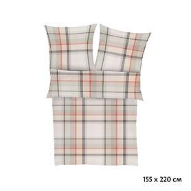 satin-flanell-bettwasche-s-oliver-grau-beige-155x220-cm, 59.95 EUR @ promondo-de