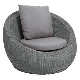 "*NEU*: Lounge-Sessel "" Anny"" aus Polypropylen, grau"