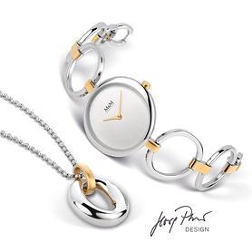Armbanduhr Ring O & Kette Fine