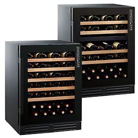 Ein- & Zweizonen-Weinkühlschränke, 160F + 160DF