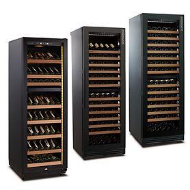 Zweizonen-Weinkühlschrank WLB 460DF BLACK EDITION