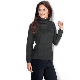 Pullover Leonie schwarz Gr.XXL