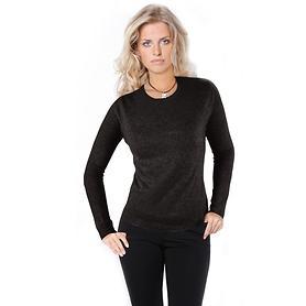 Rundhals-Pullover Nora anthrazit Gr.XL