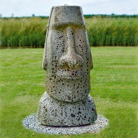 Wasserspiel Moai