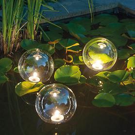LED-Leuchtkugeln, 3er-Set