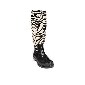 Damen-Gummistiefel Zebra & Leo